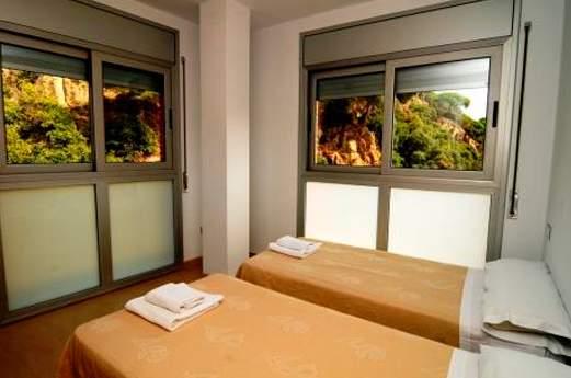 Appartementen Espronceda slaapkamer