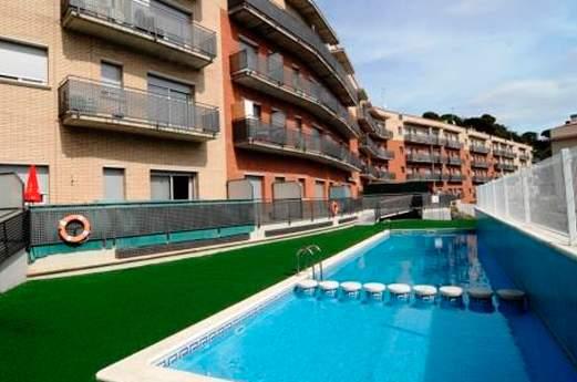 Appartementen Espronceda zwembad