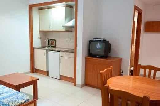 appartementen fortuna keuken