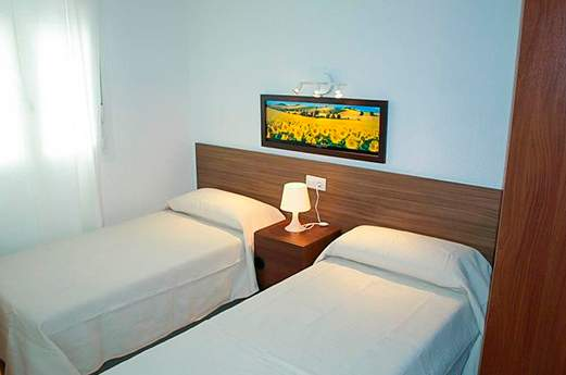 Appartementen Isern slaapkamer