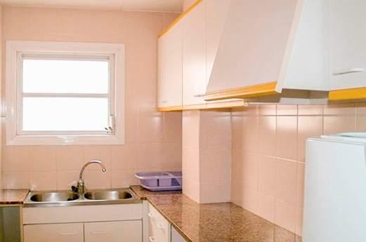 Appartementen Lotus Europa keuken