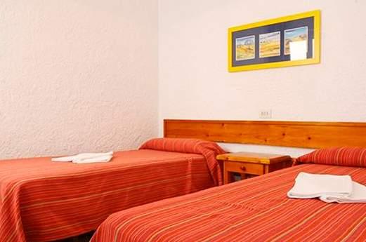 Appartementen Muntanya Mar slaapkamer