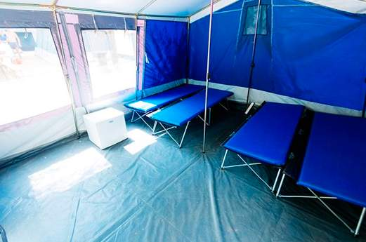 Camping La Masia tent