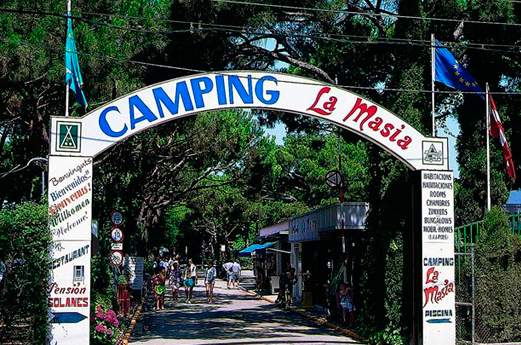 Camping La Masia voorkant